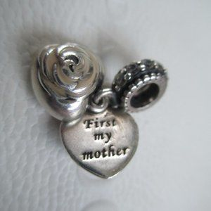 Pandora First my mother, forever my friend. dangle
